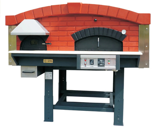 GAS AND WOOD PIZZA OVEN ASTERM MIX120V