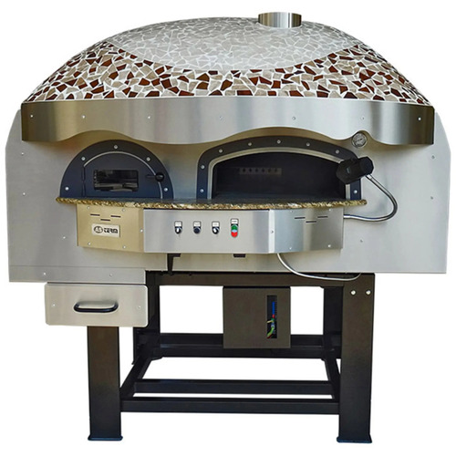 ROTARY WOOD PIZZA OVEN ASTERM DR120K