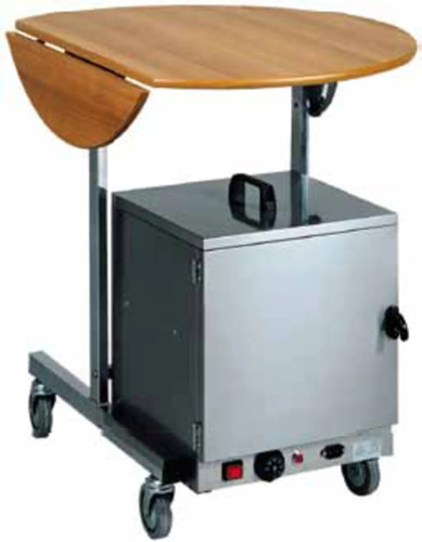 PLATE WARMING TROLLEY CST300