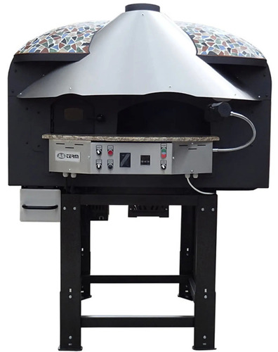 ROTARY WOOD GAS PIZZA OVEN ASTERM MIX85RK