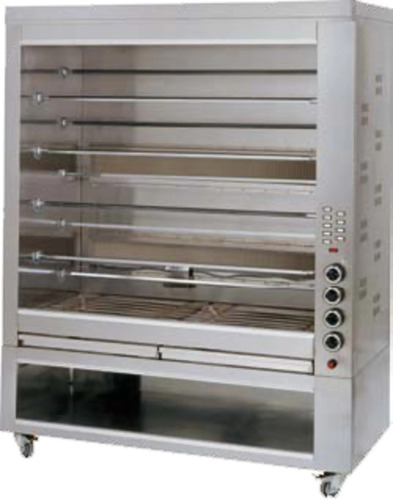 GAS ROTISSERIES SPIT GRILL PAN K