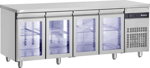 Refrigerated Counter Glass INOMAK PNN9999/GL