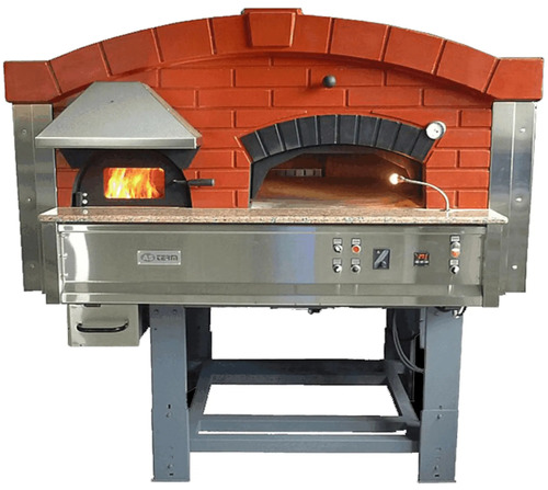 ROTARY WOOD GAS PIZZA OVEN ASTERM MIXA120R