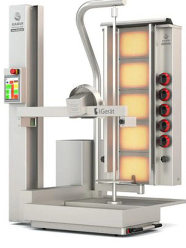 AUTOMATIC GAS DONER MACHINE DC2