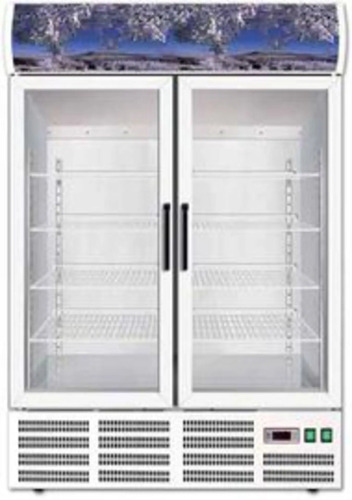 REFRIGERATED CABINET GLASS FORCAR SNACK