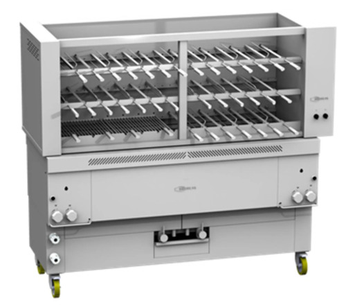 GAS CHURRASCO GRILL GRESILVA GHPI GR40